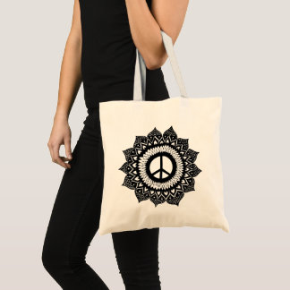 Bolsa Tote Encontras   Mandala interno peace Bag your