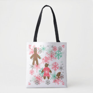 Bolsa Tote Encontre os gengibres! Sacola do Natal