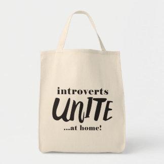 Bolsa Tote Engraçado Introverts a sacola