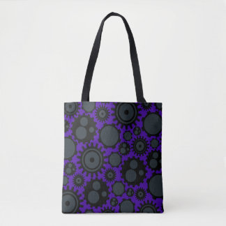 Bolsa Tote Engrenagens de Steampunk do Grunge