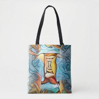 Bolsa Tote Entrada a além, dreamscape abstrato da expressão