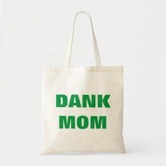 Bolsa Tote Erva daninha engraçada do dia das mães da mamã