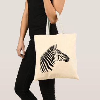Bolsa Tote Esboço da zebra das pastagem do Savanna do animal