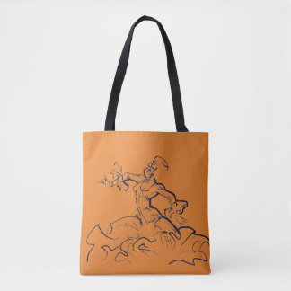 Bolsa Tote Esboços do dançarino do Flamenco