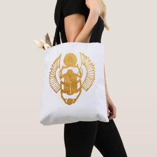 Bolsa Tote Escaravelho Egipto. Besouro voado egípcio do
