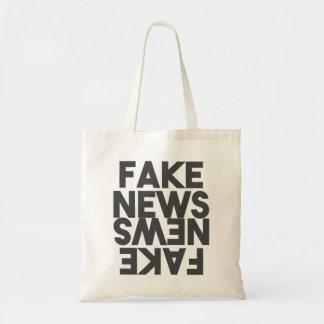Bolsa Tote Espelho falsificado da verdade do cargo da notícia
