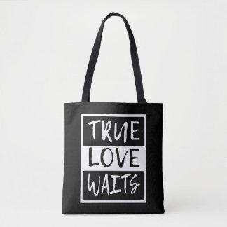 Bolsa Tote Esperas verdadeiras do amor