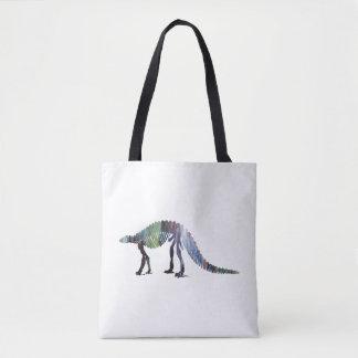 Bolsa Tote Esqueleto do dinossauro (Scelidosaurus)