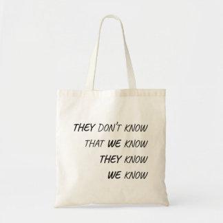 Bolsa Tote Esse onde todos sabe