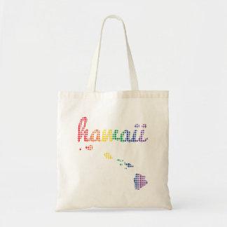 Bolsa Tote Estado do arco-íris de Havaí