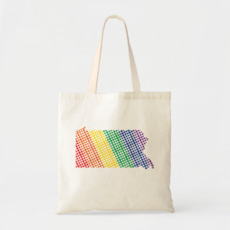 Bolsa Tote Estado do arco-íris de Pensilvânia