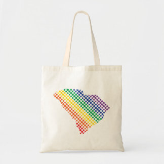 Bolsa Tote Estado do arco-íris de South Carolina