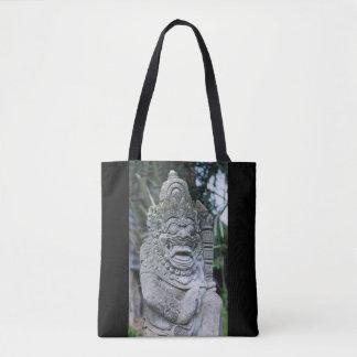 Bolsa Tote Estátua do deus do Balinese