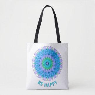 Bolsa Tote Esteja feliz
