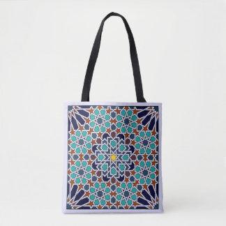 Bolsa Tote Estilo do clássico de Alhambra