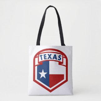 Bolsa Tote Estilo do protetor da bandeira de Texas
