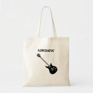 Bolsa Tote Estrela do rock da guitarra