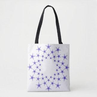 Bolsa Tote Estrelas dos peixes de Jesus