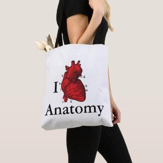 Bolsa Tote Eu amo a anatomia