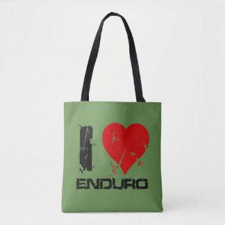 Bolsa Tote Eu amo Enduro