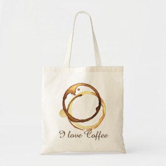 Bolsa Tote Eu amo o café