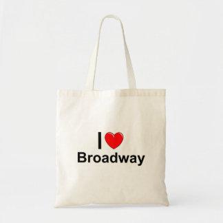 Bolsa Tote Eu amo o coração Broadway