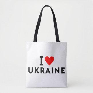 Bolsa Tote Eu amo o país de Ucrânia como o turismo do viagem