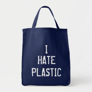 Bolsa Tote Eu deio o plástico