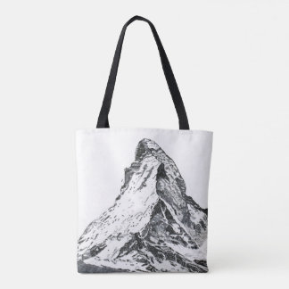 Bolsa Tote Eu movo a sacola das montanhas