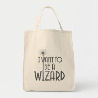Bolsa Tote Eu quero ser um feiticeiro