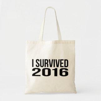 Bolsa Tote Eu sobrevivi a 2016