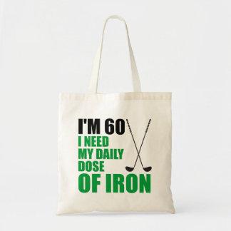 Bolsa Tote Eu sou a dose 60 diária da sacola do ferro