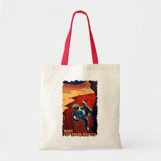 Bolsa Tote Exploradores de Marte queridos - sacola do
