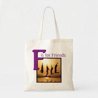 Bolsa Tote F para amigos
