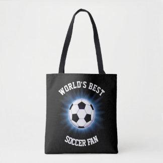 Bolsa Tote Fã de futebol do mundo o melhor toda sobre -