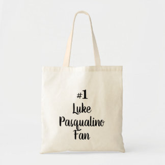 Bolsa Tote Fã de Luke Pasqualino do número 1