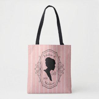 Bolsa Tote Fabuloso na senhora Silhueta Elegante de cinqüênta