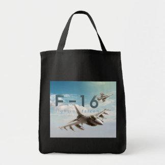 Bolsa Tote Falcão F-16 de combate