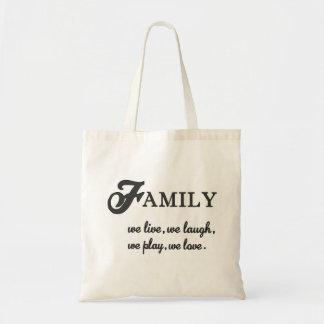 Bolsa Tote Família
