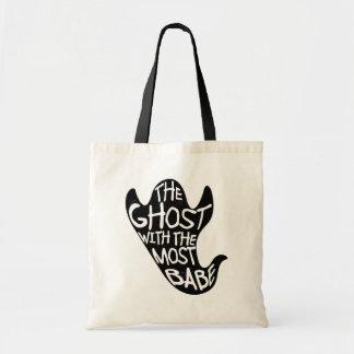 Bolsa Tote Fantasma com a maioria de sacola do Dia das Bruxas
