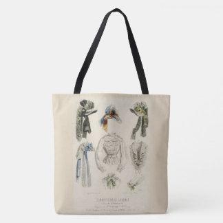 Bolsa Tote Fashion_Bag (c) vintage Art_Multi-Sz