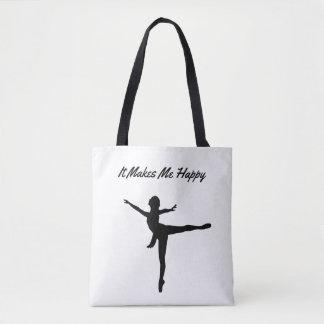 Bolsa Tote Faz-me a Feliz-Dança