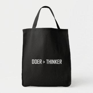 Bolsa Tote Fazedor maior do que o pensador