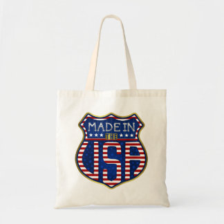 Bolsa Tote Feito nos EUA 4ns do logotipo americano orgulhoso