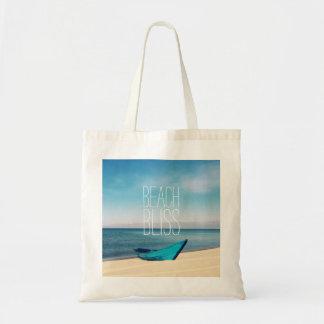 Bolsa Tote Felicidade bonita da praia