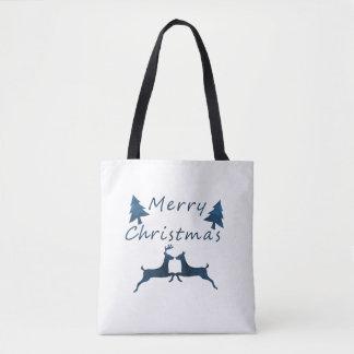 Bolsa Tote Feliz Natal