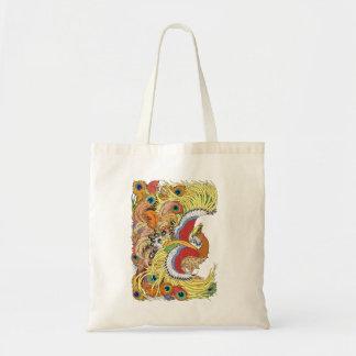 Bolsa Tote Feng huang de phoenix do chinês