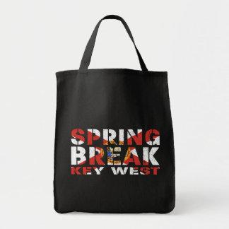 Bolsa Tote Férias da primavera Key West Florida