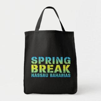 Bolsa Tote Férias da primavera Nassau Bahamas