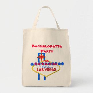 Bolsa Tote Festa de solteira de Las Vegas personalizada